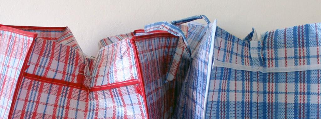 red-and-blue-bags