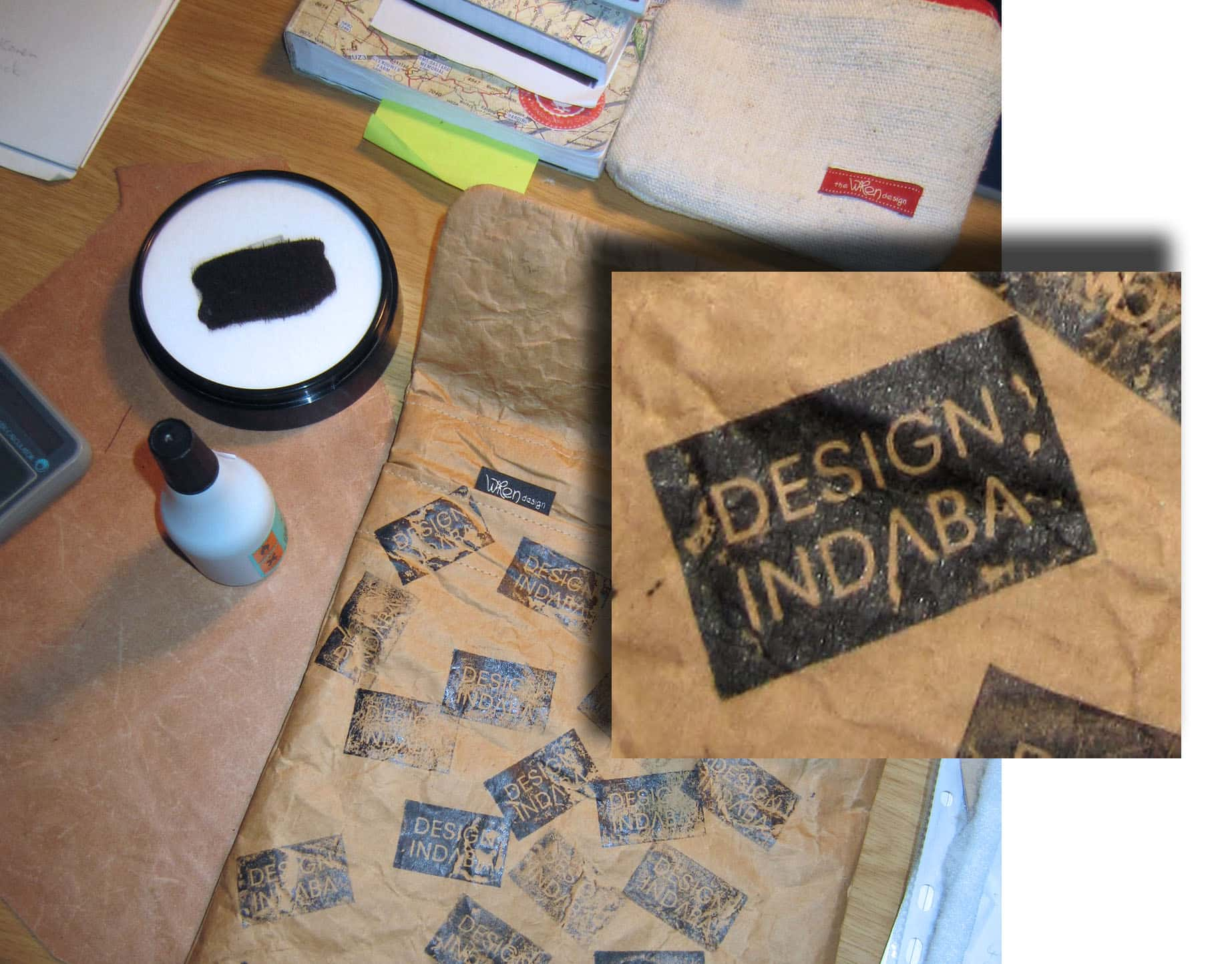 Design Indaba - working with permanent ink