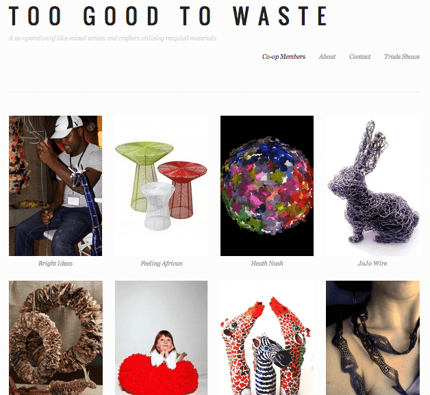 Too Good To Waste Website is now live