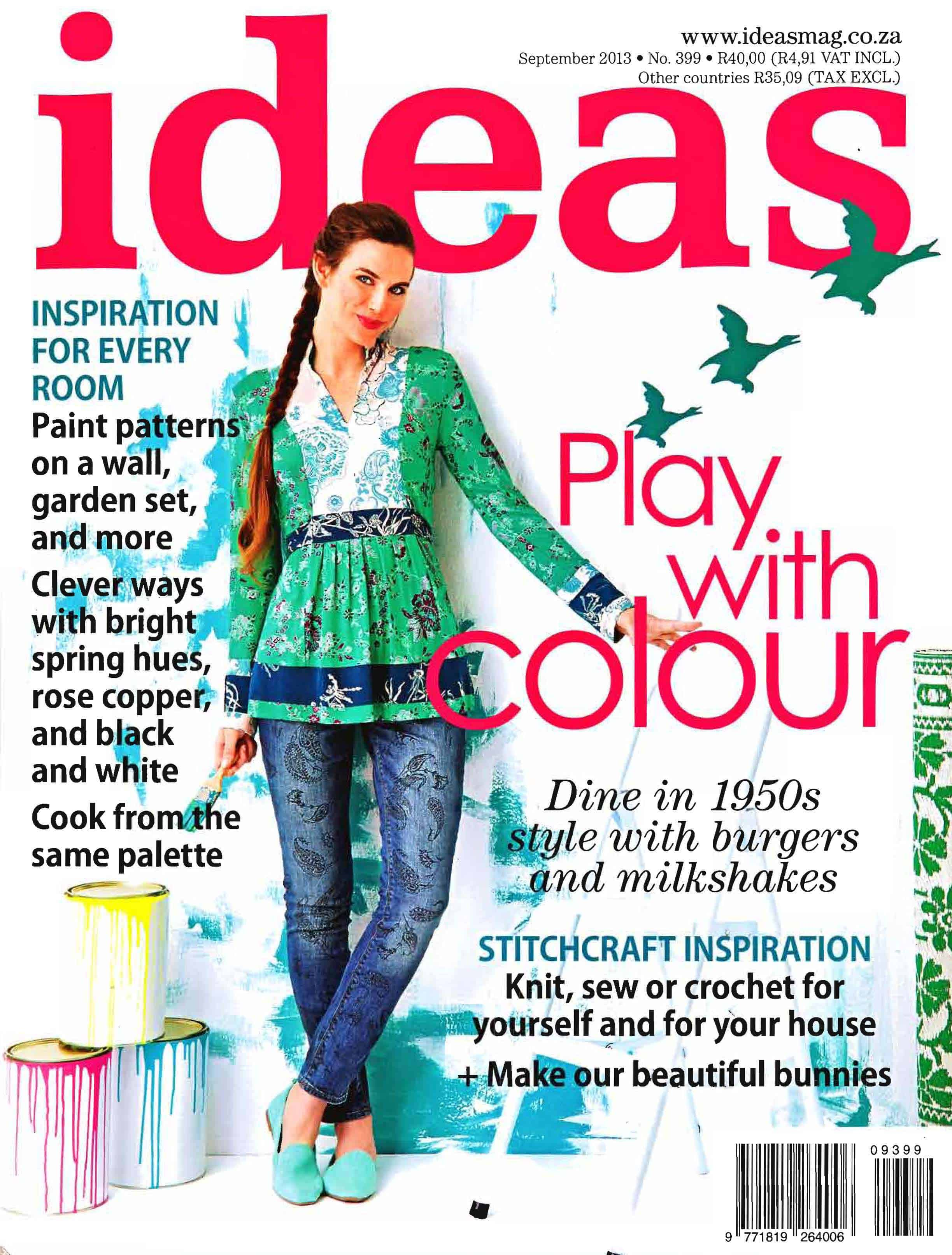 Ideas Mag - front cover - Sept 2013