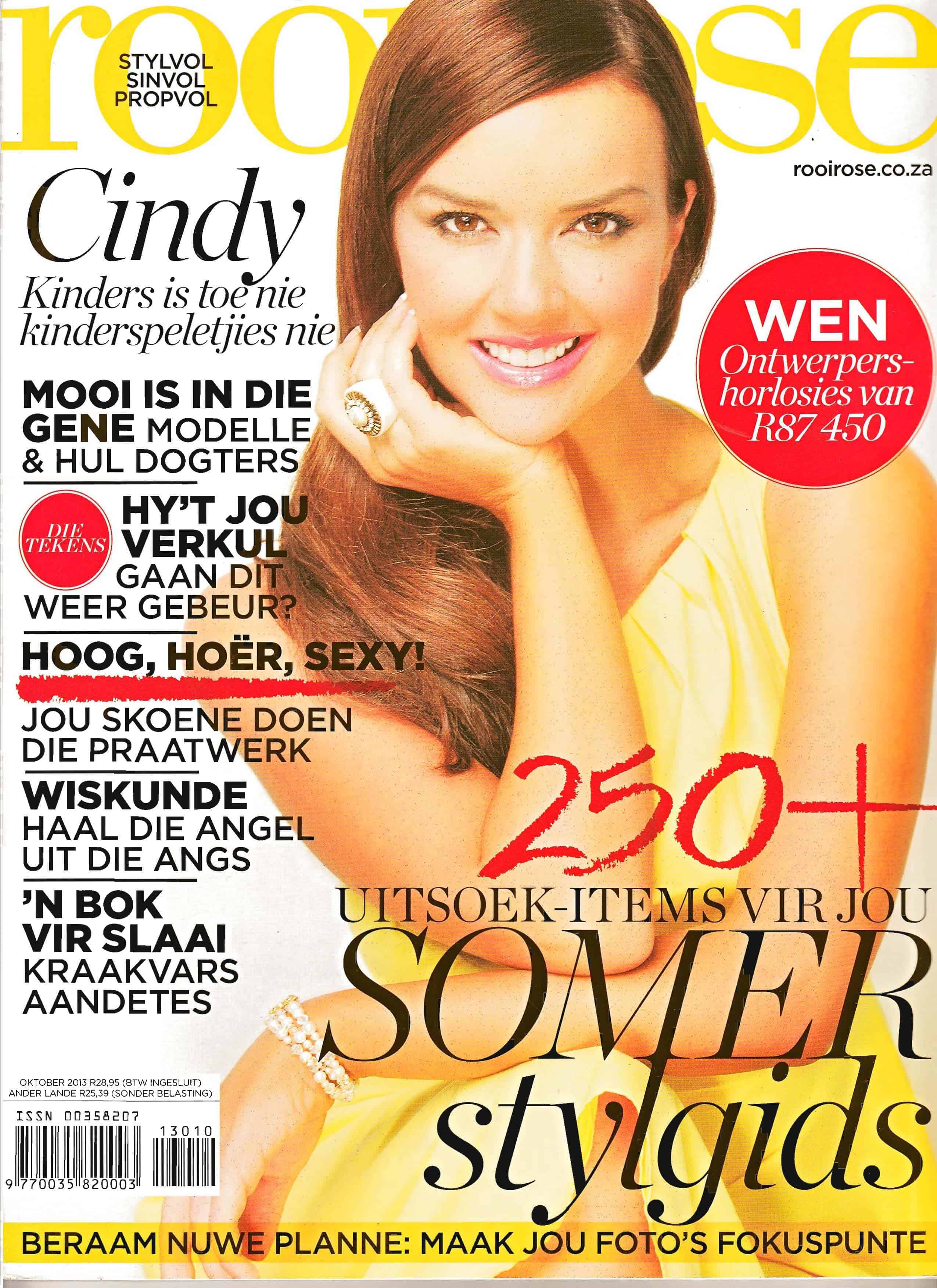 Rooi Rose Front cover - Oct 2013
