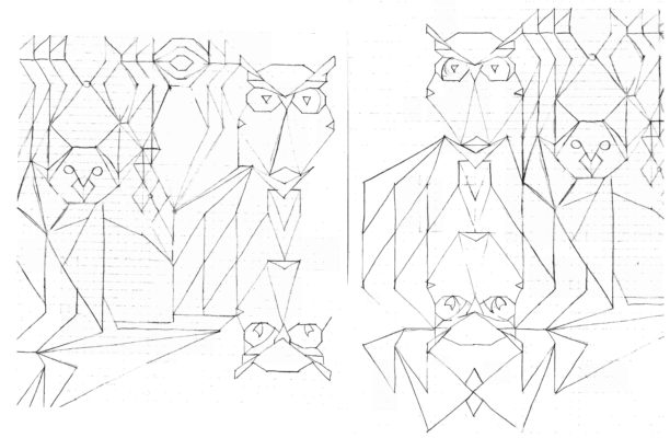 Scanned Drawings