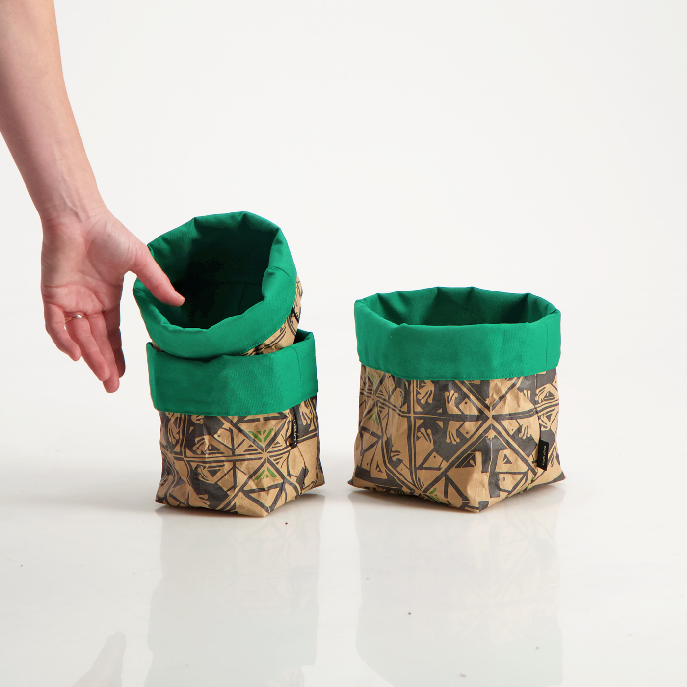 Ara Green Small styled set Soft Bucket lres